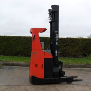 Red BT Reflex Reach Truck